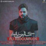 علی عبدالمالکی ستاره دنباله دار